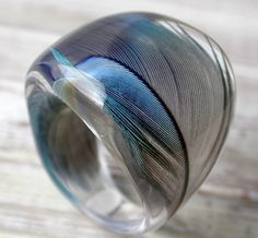 parrot feather ring
