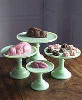... Day of the Rest Of My Life...With You: Milk Glass Cake and Pie Stands
