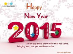 May the year 2015 bring you loads of joy, happy surprises and great success. Sanchay Tech wish you a very HAPPY & PROSPEROUS NEW YEAR!!  #HappyNewYear #GoodBye2014 #Welcome2015