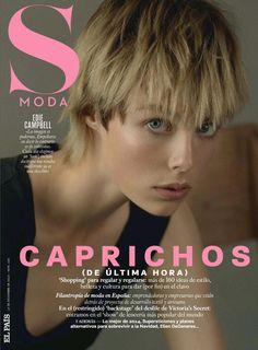 cool Edie Campbell por Santiago & Mauricio para S Moda Dezembro 2014  [Fashion]