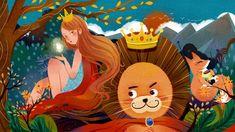 A Jó, az Erős és a Ravasz - Legyen a mércéd a mosolyod Lion Illustration, Children's Literature, Background Templates, Green Backgrounds, Prints For Sale, Fairy, Illustrator, Princess Zelda, Cartoon