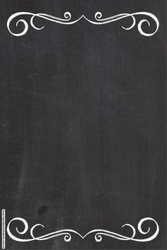 blackboard-style-free-party-printables-001.jpg (1068×1600)