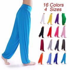 Yoga Pants Women Bloomers Dance Yoga TaiChi Full Length Pants Smooth Antistatic Pants  B2C Shop