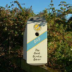 Lindleywood - Personalised Beer Can Bird Box
