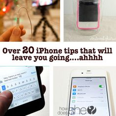 Over 20 iPhone tips that will leave you going….ahhh #howdoesshe #organizeyourphone howdoesshe.com
