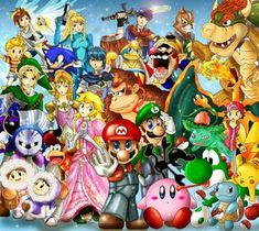 Super Smash Bros Brawl by khghibli.deviantart.com on @deviantART
