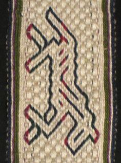 Tablet weaving Horse by brickband, via Flickr
