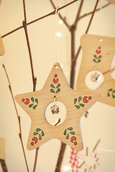Ялинкові прикраси від Пташка декор . Сhristmas tree ornaments by Ptashka-decor /laser cutting
