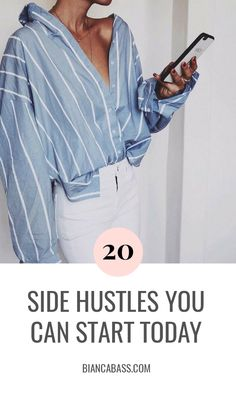 Side hustle | Side hustles | Hustle | Work | Career | Work tips | Work advice | Motivation | Money | Success | Inspiration
