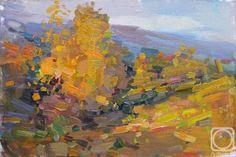 vitaly makarov artist | Makarov Vitaly. Evening autumn sun.