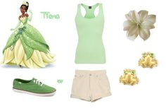 Tiana Outfit- The Princess and the Frog by Stacy P.