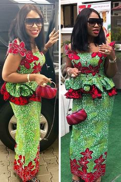 Beautiful Ankara Skirt and Blouse 2018 · Ensemble Pagne AfricainRobe En  Pagne AfricainMode