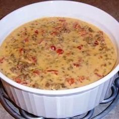 Spicy Rotel Cheese Dip Recipe