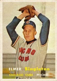 378 - Elmer Singleton - Chicago Cubs