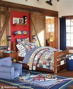 Image result for Boys Train Room
