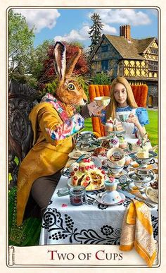 The Alice Tarot  — Standard deck.
