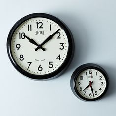 50's Electric Wall Clock on Food52