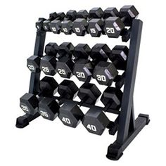 Gracelove Heavy Duty Dumbbell Rack 3 Tier Level Shelf Weight Gym Shelves Organizer Storage Black one size * You can find more details by visiting the image link. (This is an affiliate link) Home Gym Equipment, No Equipment Workout, Fitness Equipment, Gym Workouts, At Home Workouts, Gym Dumbbells, Weight Rack, Dumbbell Rack, Exercise Bike Reviews