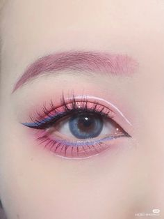 Edgy Makeup, Eye Makeup Art, Cute Makeup, Pretty Makeup, Eyeshadow Makeup, Makeup Inspo, Lip Makeup, Makeup Inspiration, Anime Makeup