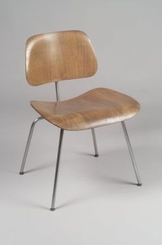 """DCM"" Side Chair  Designers: Charles Eames, American, 1907-1978; Ray Eames, American, born Bernice Alexander Kaiser, 1912-1988  Manufacturer: Evans Products Company  Medium: Plywood, metal, rubber  Place Manufactured: Venice, California, USA  Dates: 1946-1949"
