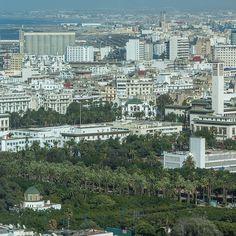 This is #Casablanca! #Maroc #Morocco #travel #voyage #cityscape #magazine #ipad #nowmaroc