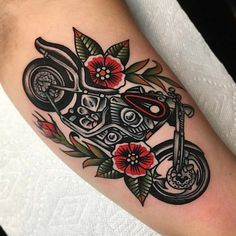David Halsey David Halsey out of - Tattoos - bmw yamaha for women gear girl harley tattoo Harley Tattoos, Biker Tattoos, Motorcycle Tattoos, Dad Tattoos, Music Tattoos, Body Art Tattoos, Sleeve Tattoos, Tatoos, Music Heart Tattoo