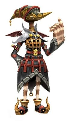 Final Fantasy Crystal Chronicles - Amidatty: the rather eccentric leader of the Yuke caravan from Shella.