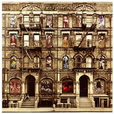 Led Zeppelin - Physical Graffiti by Peter Corriston | Hypergallery Album Art Prints