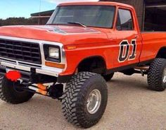 This must be what uncle Jesse pictured everytime Bo and Luke took his truck. 1979 Ford Truck, Old Ford Trucks, Old Pickup Trucks, Diesel Trucks, Ford 4x4, 4x4 Trucks, Classic Ford Trucks, Lifted Chevy Trucks, Vintage Trucks