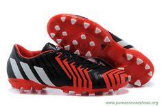 Mens AG ADIDAS Predator Instinct Black/White/Red Cleats