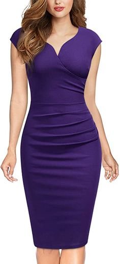 Classy Dress, Classy Outfits, Chic Outfits, Dress Outfits, Pencil Dress Outfit, Black Pencil Dress, Pencil Dresses, Picture Outfits, Women's Dresses