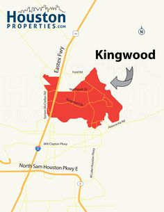 Kingwood TX Map
