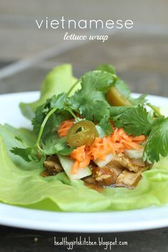 Healthy Girl's Kitchen: From Bánh mì to Vietnamese Tofu Lettuce Wrap: Transforming a New Classic