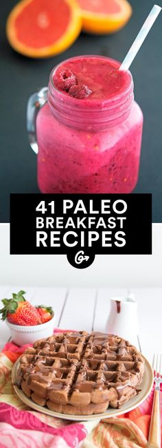 41 Paleo Breakfasts That Aren't Eggs #paleo #breakfast #recipes http://greatist.com/eat/paleo-breakfast-recipes
