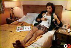 Jason Stackhouse !!! Alright ... so Ryan Kwanten lounging all hot as f*ck in Bed