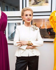 Carolina Herrera is the inspiration behind every fragrance at the House of Herrera Gowns Of Elegance, Casual Elegance, Ch Carolina Herrera, Advanced Style, Estilo Fashion, Fashion Outfits, Womens Fashion, Fashion Weeks, Fashion Tips
