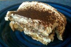 Tiramisu as My Birthday Cake