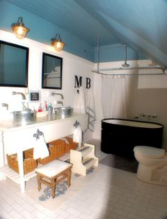 Kids bathroom with great style