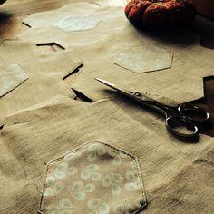 Linnen serviettes for table #serviette #posavasos