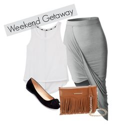 """""""week out"""" by elirana-chase on Polyvore featuring LE3NO, Rebecca Minkoff and Machi"""