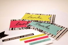 Laradee business cards