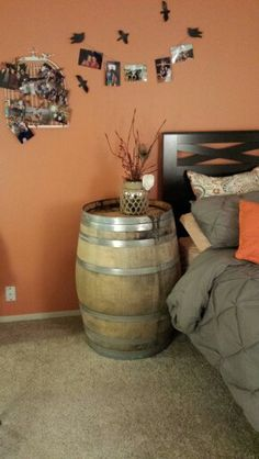 19 Interesting Ways Using Wine Barrels In Home Décor