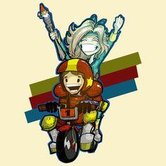 Turbo Kid and Apple - NeatoShop