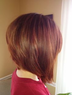 Back of an Asymmetric Bob by Stephanie Brooke Odom