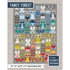 Fancy Forest Quilt Pattern by Elizabeth Hartman - Gotham Quilts
