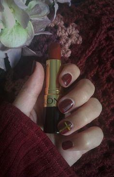 Marsala Nails by pretzil Www.feliciadebeer.co.za