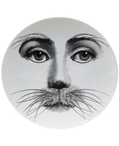 """Plate 311 from Piero Fornasetti's """"Theme and Variations"""" series"""