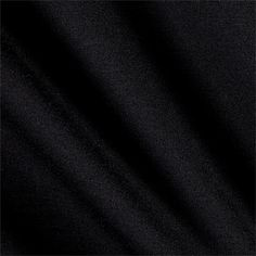 Telio Jockey Ponte Knit Black from @fabricdotcom  This medium/heavyweight high quality stable double knit fabric has a lovely smooth hand and 20% four-way stretch for comfort and ease. Perfect for