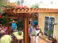 Image result for can you put a pergola inside a screened in porch