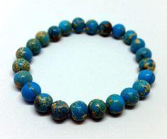 Női ásvány karkötők - Mata Beads Beaded Necklace, Beaded Bracelets, Turquoise Bracelet, Jewelry, Pearl Necklace, Bijoux, Jewlery, Jewels